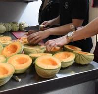 Ausschnitt Melone